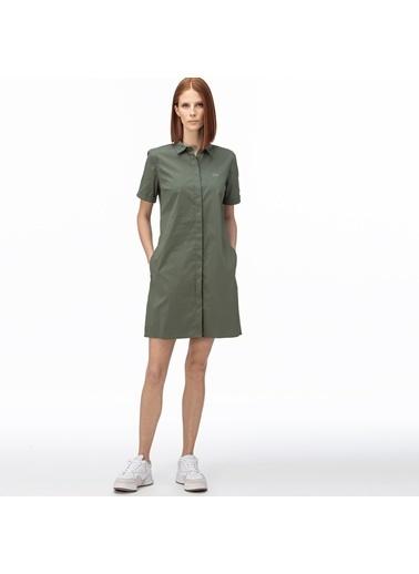 Lacoste Kadın Kısa Kollu Elbise EF0021.21H Yeşil